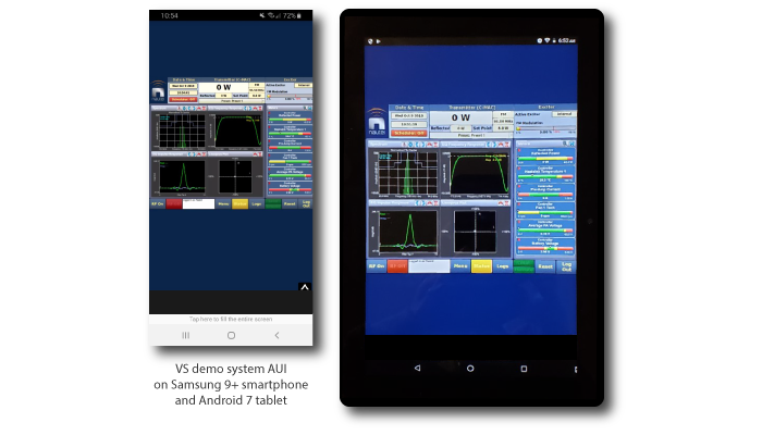 AUI on Android smartphone and tablet