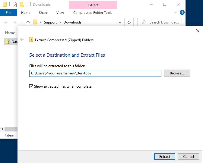 3. Create App folder on Desktop