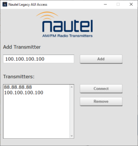 Legacy AUI Access Launcher - multiple transmitters